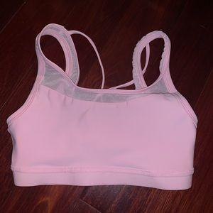 Under Armour Women's Pink Sports Bra